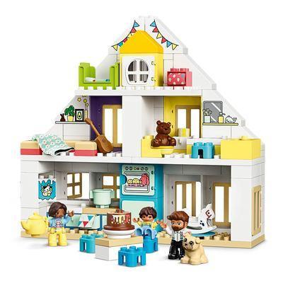 Конструктор LEGO DUPLO Модульный игрушечный домик 129 деталей (10929)