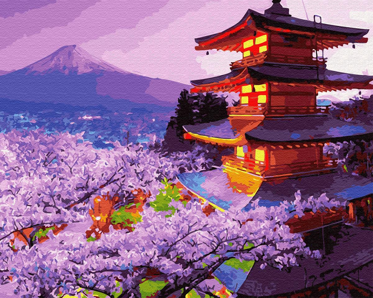 Вечір в Японії