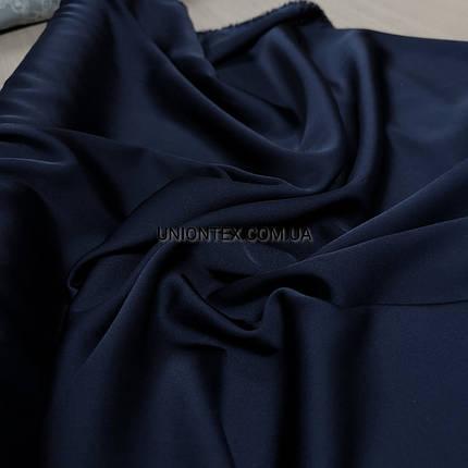 Ткань шелк-армани темно-синий, фото 2