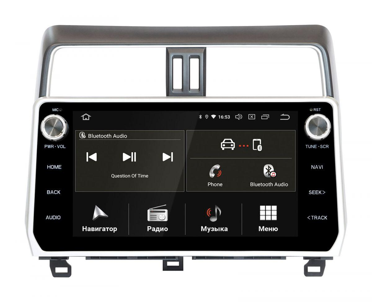 Toyota Prado 150 2018+ Incar Android 9 штатная магнитола на тойота на тойоту прадо 150