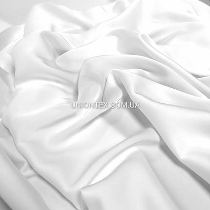 Ткань шелк Армани белый, фото 2