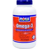 Омега 3  Жирные Кислоты Now Omega 3  - 100 капс
