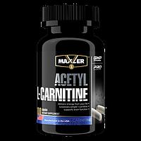 Maxler Acetyl L-Carnitine - 100caps л-карнитин для похудения и работоспособности, нормализация жирового обмена