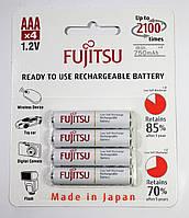 Аккумуляторы Fujitsu AAA 750mAh в блистере 4шт. HR-4UTCEX(4B)
