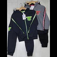 Дитячі спортивні костюми для хлопчиків оптом GRACE 116--146см