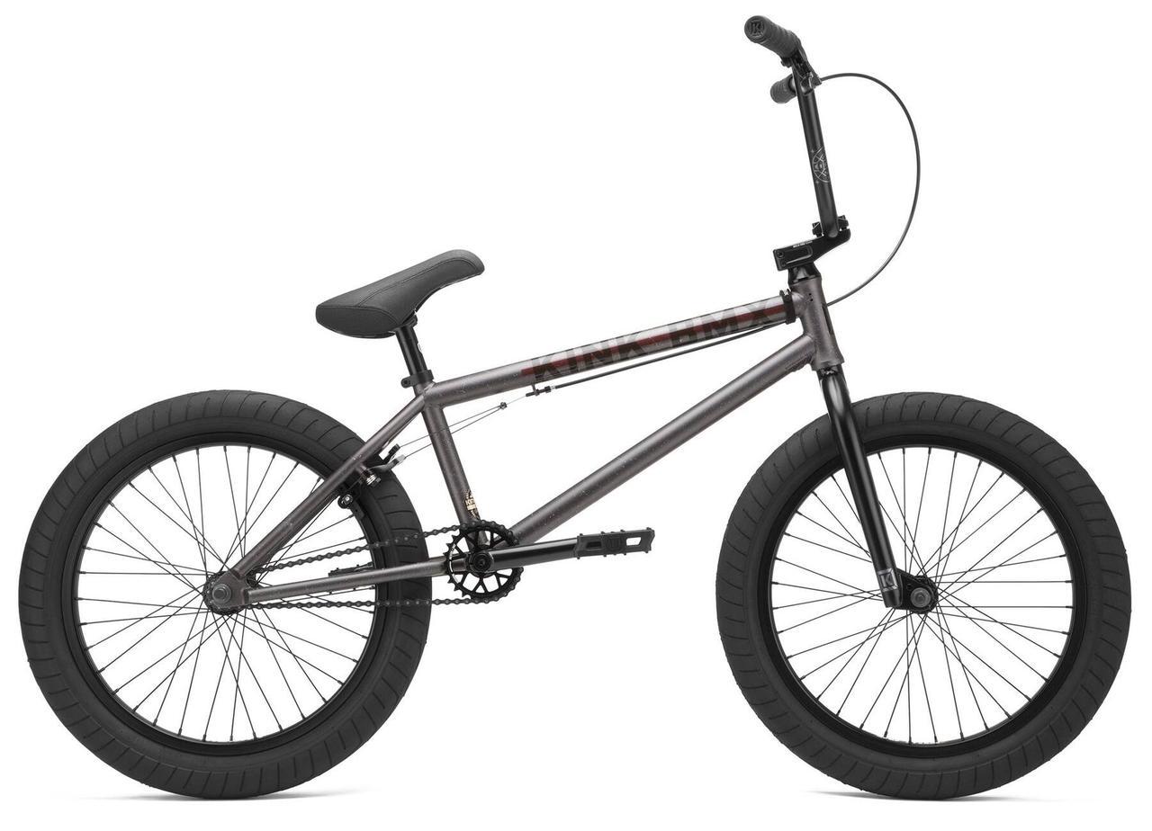 Велосипед BMX 20 KINK Whip 2021 серый K450CHR21