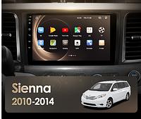 Junsun 4G Android магнитола для Toyota Sienna 3 XL30 2010 - 2014