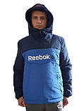 Демісезонна куртка. Анорак. Синя і електрик/ XS - XL, фото 2
