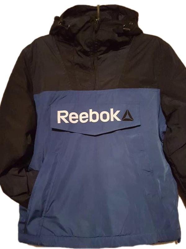 Демісезонна куртка. Анорак. Синя і електрик/ XS - XL