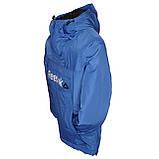 Спортивная демисезонная куртка унисекс. Электрик. Анорак. XS - XL, фото 3