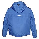 Спортивная демисезонная куртка унисекс. Электрик. Анорак. XS - XL, фото 2