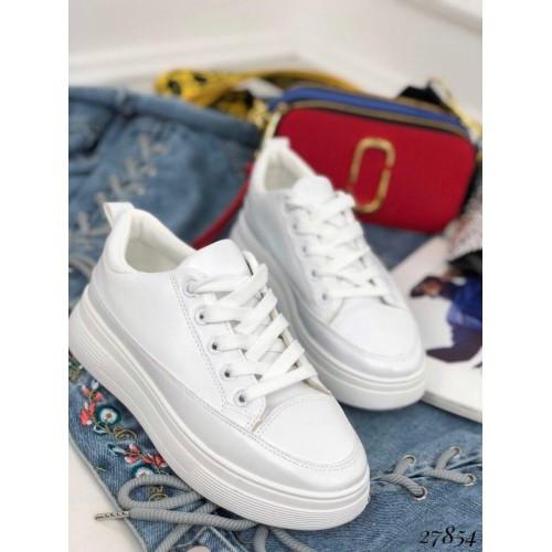 Белые кеды Fashion