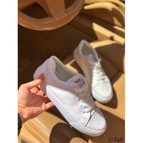 Кеды Fashion белые