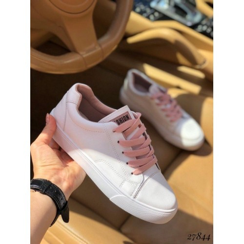 Білі жіночі кеди Fashion 37