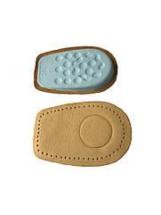 Ортопедические подпяточники кожаные при пяточной шпоре, высота 1 см.