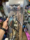 Скейт деревянный, Скейтборд, натуральное дерево , дека 71х20 см, отличное качество качество, цветной, фото 3