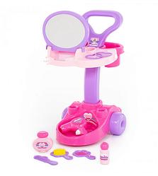 Детский туалетный столик с зеркалом.Игрушечный набор косметический столик.