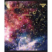 "Тетрадь для записей А5/24 лин. YES ""STARS"" мат. ВДЛ+софт-тач+фольга золото"