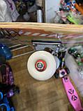 Скейт деревянный, Скейтборд, натуральное дерево , дека 71х20 см, отличное качество качество, цветной, фото 7