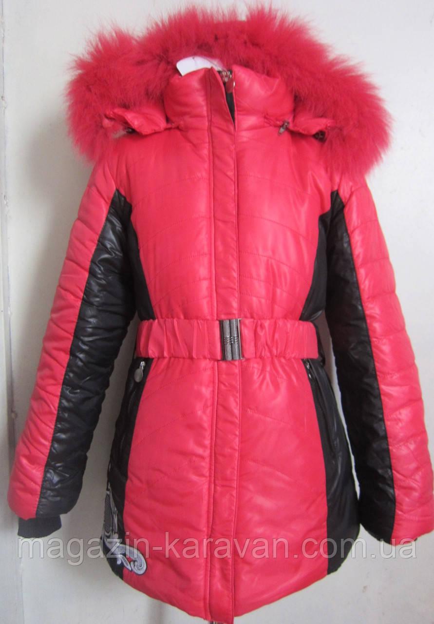 Зимняя куртка для девочки. 401