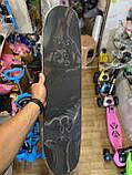 Скейт деревянный, Скейтборд, натуральное дерево , дека 71х20 см, отличное качество качество, цветной, фото 8