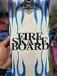Скейт деревянный, Скейтборд, натуральное дерево , дека 71х20 см, отличное качество качество, цветной, фото 2
