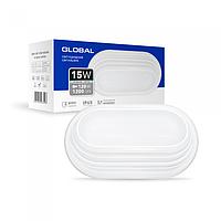 Антивандальний LED-світильник GLOBAL GBH 05 15W 5000K білий (еліпс)