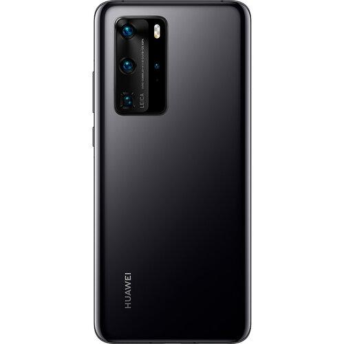 Задняя крышка Huawei P40 Pro (ELS-NX9/ELS-N04), черная, Оригинал