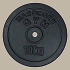 Блин диск для штанги гранилит 10 кг (27 мм), фото 2