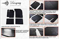Fiat Sedici 2006+ гг. Резиновые коврики (4 шт, Stingray Premium)