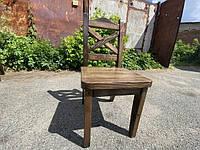 """Деревянный стул """"Кресты"""", садовы стулья для кафе от производителя для дачи, кафе Wooden chair - 07"""