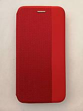 Чехол-книжка Huawei P40 Lite Strip color Red