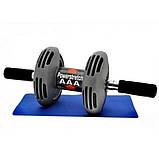 Тренажер - гимнастический ролик с возвратом Power Stretch Roller, фото 3