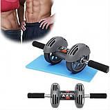 Тренажер - гимнастический ролик с возвратом Power Stretch Roller, фото 4