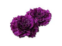 Тканевый пион - Фиолетовый, диаметр 11 см, 1 шт