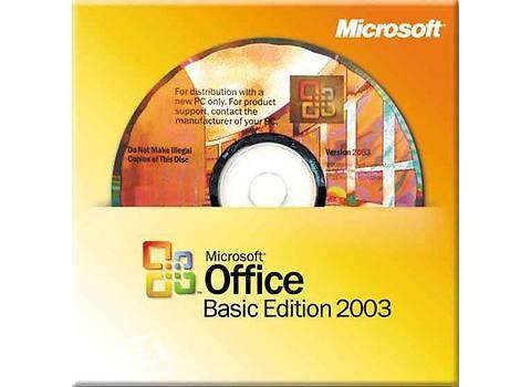 Microsoft Office 2003 Basic Edition Russian,OEM