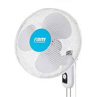 Настенный поворотный вентилятор RAM Wall Fan 40см 40W 3 скорости