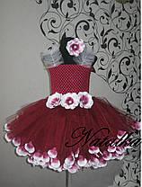 """Карнавальна сукня-спідниця з фатину """"ВИШЕНЬКА"""", фото 2"""