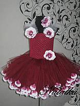 """Карнавальна сукня-спідниця з фатину """"ВИШЕНЬКА"""", фото 3"""