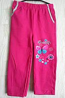 Спортивные штаны теплые детские для девочки.