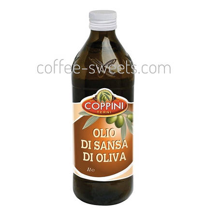 Оливковое масло Coppini Olio Di Sansa Di Oliva 1L, фото 2
