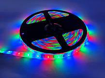 Led Strip RGB Complect 3528, Светодиодная лента, Многоцветная гибкая светодиодная лента с пультом контроллером, фото 3