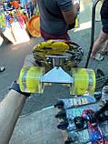 Скейт Penny Board, с широкими светящимися колесами Пенни борд, детский , от 4 лет, расцветка Граффити, фото 6