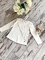 Кофта для дівчат, розмір 104-128 (4-8 років) на опт белый