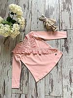 Кофта для дівчат, розмір 104-128 (4-8 років) на опт персиковый