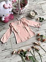 Кофта для дівчат, розмір 80-104 розмір (1-4 років) на опт персиковый