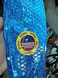 Скейт Penny Board, с широкими светящимися колесами Пенни борд, детский , от 4 лет, расцветка Галактика, фото 7