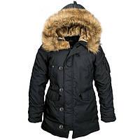 Зимова жіноча куртка аляска Alpha Industries Altitude W Parka WJA44503C1 (Black)