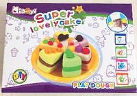 Набор для лепки и творчества Пироженное  тесто, масса для лепки, моделин