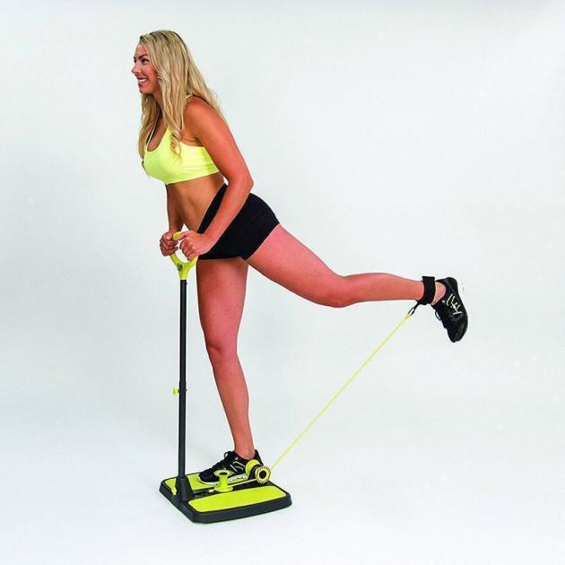 Фитнес тренажер для дома всего тела и мышц Booty MaxX Plus